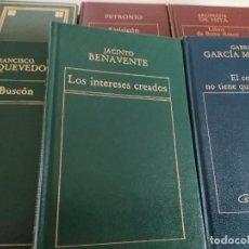 Libros de segunda mano: LOTE DE LIBROS AUTORES CLÁSICOS. Lote 289553453