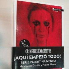Libros de segunda mano: NIEVES ABARCA Y VICENTE GARRIDO CRIMENES EXQUISITOS SA7514. Lote 289553703
