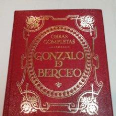 Libros de segunda mano: GONZALO DE BERCEO OBRAS COMPLETAS SA5721. Lote 289559173