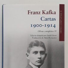 Libros de segunda mano: FRANZ KAFFKA, CARTAS 1900-1914, OBRAS COMPLETAS IV (GALAXIA GUTENBERG,1ª EDICIÓN 2018). Lote 289615108