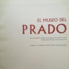 Libros de segunda mano: EL MUSEO DEL PRADO, HARRY B WEHLE. Lote 289661123