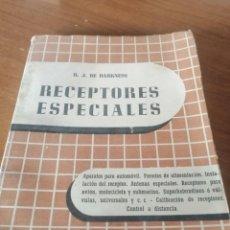 Libros de segunda mano: RADIO ANTIGUA VÁLVULAS. RECEPTORES ESPECIALES. VER FOTO SUMARIO. 1946. DARKNESS. Lote 289699673