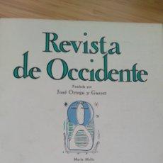 Libros de segunda mano: REVISTA OCCIDENTE Nº131(1974) E.L.REVOL: PASAJE A BLOOMSBURY.LOS TANTEOS MANTICOS DE CORTAZAR. Lote 289715413