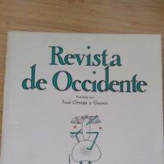 Libros de segunda mano: REVISTA OCCIDENTE Nº133(1974) CORTAZAR:MANUSCRITO HALLADO EN UN BOLSILLO.LAÍN: AZORIN,EL MISMO PERO. Lote 289715713