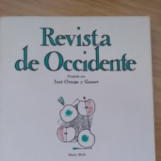 Libros de segunda mano: REVISTA OCCIDENTE Nº137(1974) GIMFERRER: EL NUEVO GOYTISOLO.BERMUDEZ DE CASTRO: EN TORNO A LA BANALI. Lote 289716308