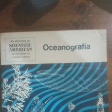 Libros de segunda mano: OCEANOGRAFÍA. Lote 289765393