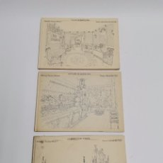 Libros de segunda mano: L-1401. LOT DE 3 TITOLS BARCELONA, DIBUIXOS DE AURORA ALTISENT. ED. LUMEN. ANYS 60-80.. Lote 289849483