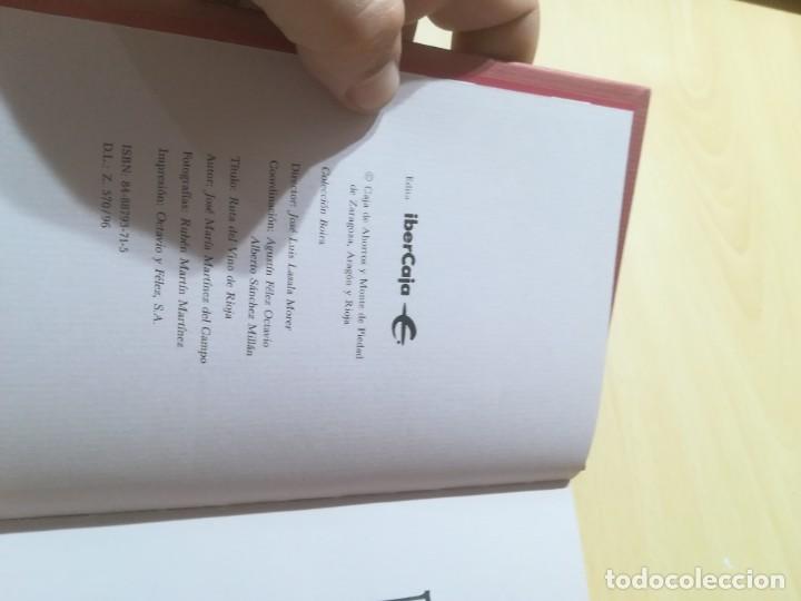 Libros de segunda mano: RUTA DEL VINO DE RIOJA / JOSE MARIA MARTINEZ DEL CAMPO / ARAGON BOIRA IBERCAJA / ALL41 - Foto 6 - 289902518
