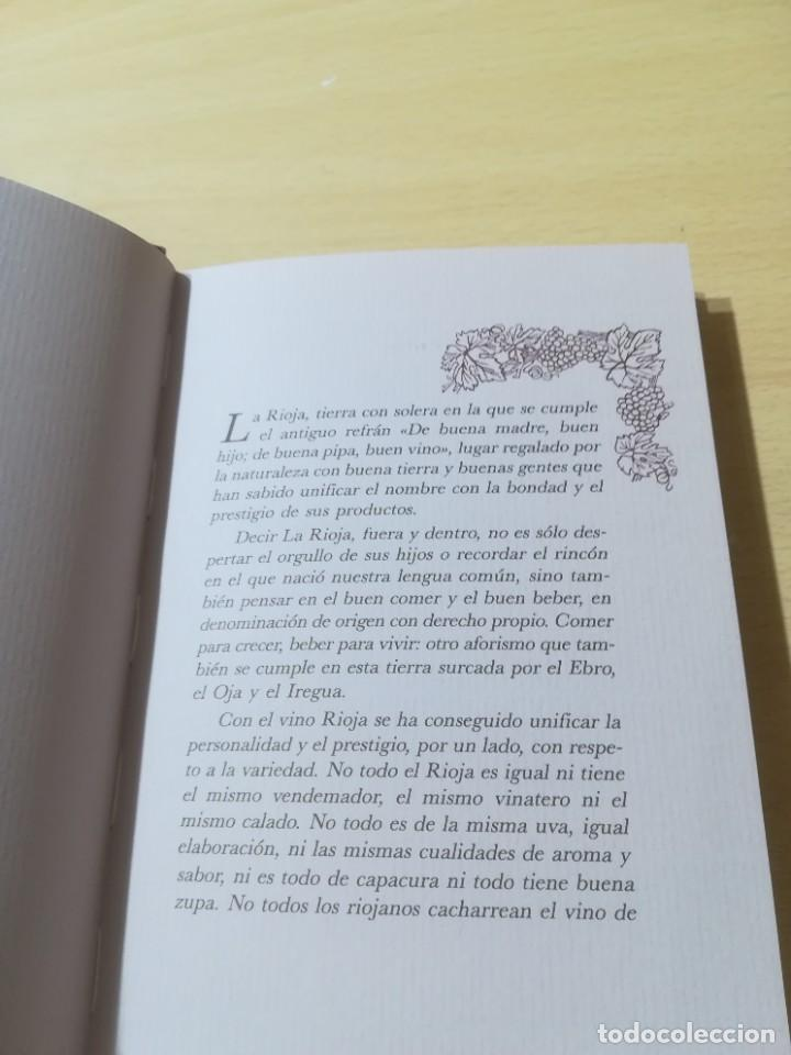 Libros de segunda mano: RUTA DEL VINO DE RIOJA / JOSE MARIA MARTINEZ DEL CAMPO / ARAGON BOIRA IBERCAJA / ALL41 - Foto 8 - 289902518