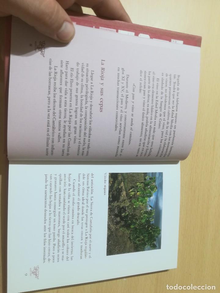 Libros de segunda mano: RUTA DEL VINO DE RIOJA / JOSE MARIA MARTINEZ DEL CAMPO / ARAGON BOIRA IBERCAJA / ALL41 - Foto 10 - 289902518