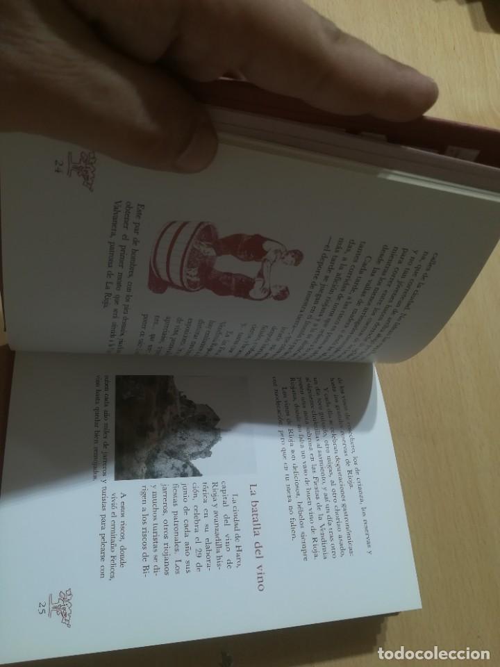 Libros de segunda mano: RUTA DEL VINO DE RIOJA / JOSE MARIA MARTINEZ DEL CAMPO / ARAGON BOIRA IBERCAJA / ALL41 - Foto 11 - 289902518