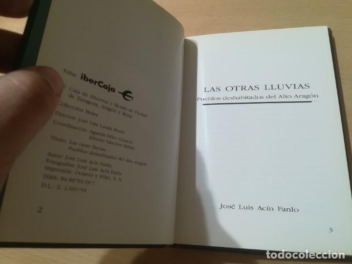 Libros de segunda mano: LAS OTRAS LLUVIAS / PUEBLOS DESHABITADOS DEL ALTO ARAGON / ARAGON BOIRA IBERCAJA / ALL41 - Foto 6 - 289902853