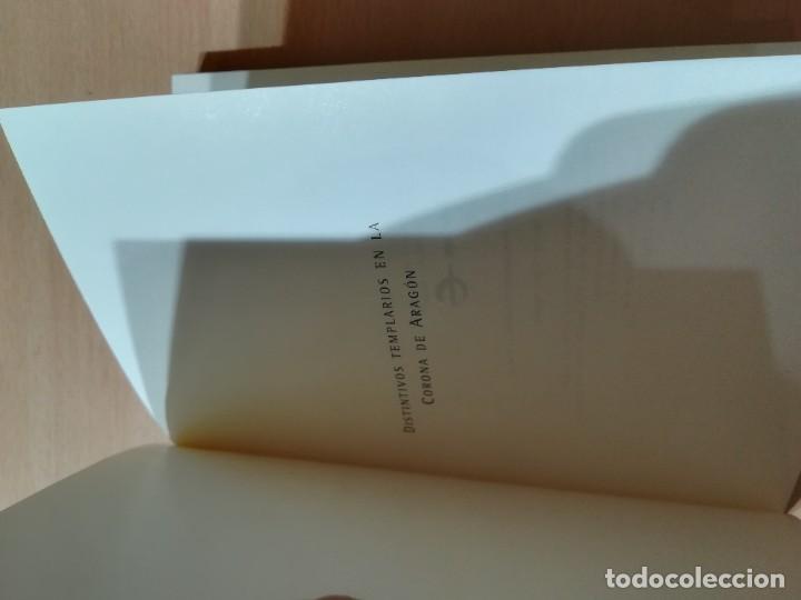 Libros de segunda mano: DISTINTIVOS TEMPLARIOS EN LA CORONA DE ARAGON / SANTIAGO CAPUZ AGUADE / ARAGON BOIRA IBERCAJA / ALL4 - Foto 5 - 289903003