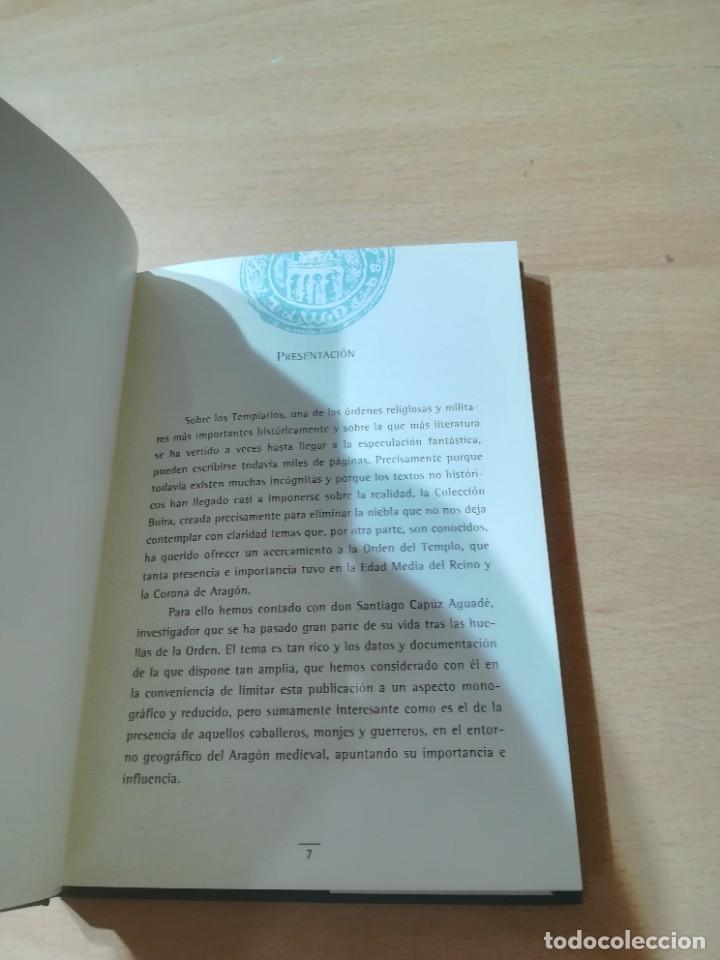 Libros de segunda mano: DISTINTIVOS TEMPLARIOS EN LA CORONA DE ARAGON / SANTIAGO CAPUZ AGUADE / ARAGON BOIRA IBERCAJA / ALL4 - Foto 10 - 289903003