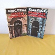 Libros de segunda mano: JUAN G. ATIENZA - GUIA DE LA ESPAÑA MÁGICA Y SEGUNDA GUIA DE LA ESPAÑA MÁGICA - MARTINEZ ROCA 1982. Lote 289996268