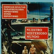 Libros de segunda mano: NUESTRO MISTERIOSO MUNDO TOMO Nº4. (REVISTA KARMA. NUMEROS. 74, 75, 76, 77. AÑO 1979. Lote 290032393