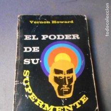 Libros de segunda mano: EL PODER DE SU SUPERMENTE. Lote 290034033