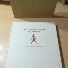 Libros de segunda mano: ARTE PREHISTORICO EN ARAGON / ANTONIO BELTRAN MARTINEZ / ARAGON IBERCAJA / ALL87. Lote 290078973