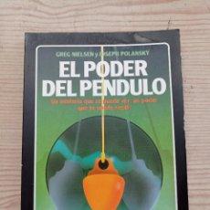 Libros de segunda mano: EL PODER DEL PENDULO - LA TABLA ESMERALDA - 1988. Lote 290114763