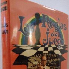 Libros de segunda mano: LAS REGLAS DEL JUEGO. J. A. JAUREGUI. ENSAYO ANTROPOLOGÍA. NUEVO RETRACTILADO. Lote 290456243