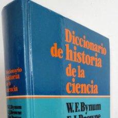 Libros de segunda mano: DICCIONARIO DE HISTORIA DE LA CIENCIA. EDIT HERDER.. Lote 290573538