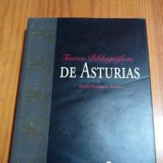 Libros de segunda mano: IS-18 TESOROS BIBLIOGRÁFICOS DE ASTURIAS TAPA DURA CON CUBIERTA 309 PAG. MEDIDÀ 34X24 NUEVO. Lote 290790348