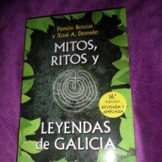 Livros em segunda mão: MITOS RITOS Y LEYENDAS DE GALICIA - PEMON BOUZAS / XOSE A. DOMELO - DISPONGO DE MAS LIBROS. Lote 291156743