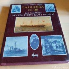 Libros de segunda mano: LA GUERRA DEL 98. AGUSTINR. RODRIGEZ GONZALEZ. AGUALARGA EDITORES. 1998. 165 PAGS.. Lote 291946138
