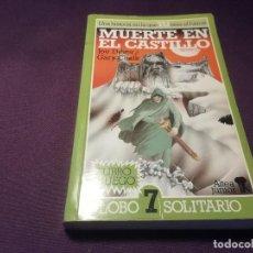 Livros em segunda mão: LIBRO JUEGO MUERTE EN EL CASTILLO LOBO SOLITARIO 7 UNA HISTORIA EN LA QUE TU ERES EL HEROE ALTEA. Lote 292485538