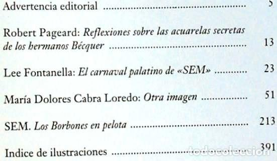 Libros de segunda mano: LOS BORBONES EN PELOTA - SEM - VALERIANO BÉCQUER / GUSTAVO ADOLFO BÉCQUER 1991 - VER INDICE - Foto 2 - 293543733