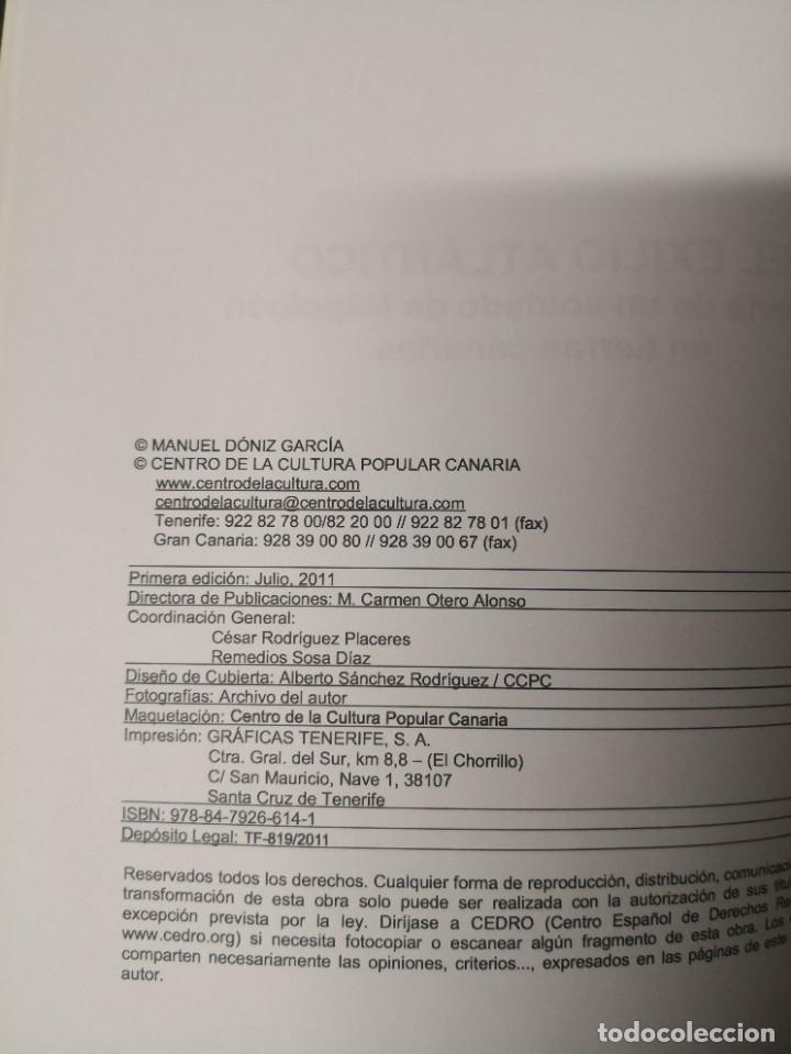 Libros de segunda mano: El exilio atlántico. Historia de un soldado de napoleón en tierras Canarias - Foto 4 - 293544183