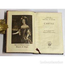 Libros de segunda mano: AÑO 1948 - CARTAS DE LA MARQUESA DE SEVIGNE - AGUILAR COLECCIÓN CRISOL 2371ª EDICIÓN. Lote 293807058
