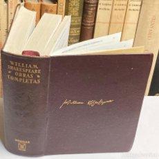 Libros de segunda mano: AÑO 1966 - OBRAS COMPLETAS DE WILLIAM SHAKESPERARE - AGUILAR OBRAS ETERNAS. Lote 293809183