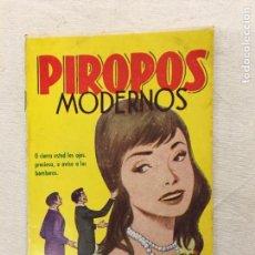 Libros de segunda mano: PIROPOS MODERNOS. EDITORIAL ALAS. BARCELONA. C.1970.. Lote 293900043