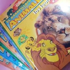Libros de segunda mano: LOTE 7 TOMOS-EL MUNDO DE LOS ANIMALES-PLANETA AGOSTINI-DISNEY-1998-DIBUJOS Y COMICS-IMPOLUTOS.. Lote 293965873