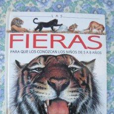 Libros de segunda mano: LIBRO LAS FIERAS, PARA NIÑOS DE 5 A 8 AÑOS, COLECCIÓN ZOOMUNDO, SUSAETA. Lote 293968088