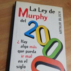Libros de segunda mano: LA LEY DE MURPHY DEL 2000 (ARTHUR BLOCH). Lote 293971373