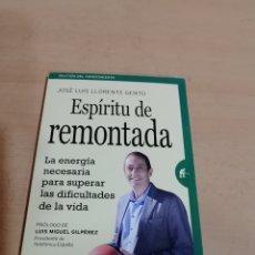 Libros de segunda mano: ESPÍRITU DE REMOMONTADA JOSÉ LUIS LLORENTE GENTO. Lote 293978353