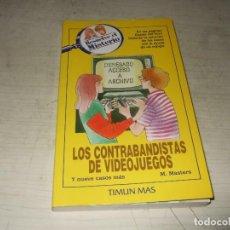 Libros de segunda mano: LOS CONTRABANDISTAS DE VIDEOJUEGOS - RESUELVE EL MISTERIO - TIMUN MAS. Lote 293980688