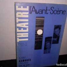 Libros de segunda mano: 39- ANTIGUA REVISTA DE TEATRO , L'AVANT-SCENE , 247, JULIO 1961. Lote 293983548