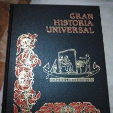 Libros de segunda mano: GRAN HISTORIA UNIVERSAL EN CÓMIC PREHISTORIA Y EGIPTO VOLUMEN 1. Lote 294086058
