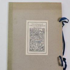 Libros de segunda mano: SELECCIO DE GRAVATS DE MARE DE DEU MONTSERRAT SEGLES XV AL XX. 1981.. Lote 294130763