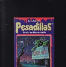 Libros de segunda mano: PESADILLAS - R. L. STINE - Nº 1 - UN DIA EN HORRORLANDIA - EDICIONES B 1996 / 6ª REIMPRESION. Lote 294153668
