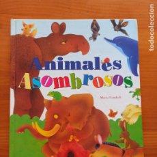 Libros de segunda mano: ANIMALES ASOMBROSOS - MARIO GOMBOLI - TODOLIBRO - TAPA DURA (P1). Lote 294169193