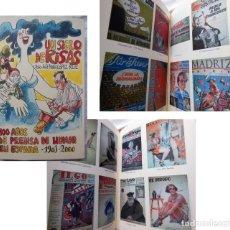 Libros de segunda mano: UN SIGLO DE RISAS. 100 AÑOS DE PRENSA DE HUMOR EN ESPAÑA (1901-2000). JOSE MARIA LOPEZ RUIZ 2006. Lote 294373658