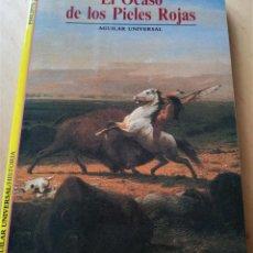 Libros de segunda mano: PHILIPPE JACQUIN EL OCASO DE LOS PIELES ROJAS. Lote 294374328