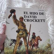 Libros de segunda mano: ANTIGUO LIBRO COMIC TEBEO CLÁSICOS UNIVERSALES. EL HIJO DE DAVID CROCKETT. TIMUN MAS. BARCELONA 1976. Lote 294377718