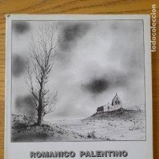 Libros de segunda mano: DIBUJO. ROMÁNICO PALENTINO, ANGEL CUESTA, ED. VALENTIN MERINO. PALENCIA, 1990 RARO. Lote 294393258