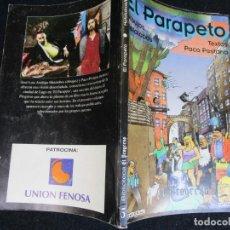 Libros de segunda mano: GALICIA LUGO - EL PARAPETO - TEXTOS PACO PESTANA, DIBUJOS DE MATALOBOS - EDI EL PROGRESO 1995 + INFO. Lote 294458503