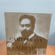 Libros de segunda mano: CAMPRODÓN Y ALBÉNIZ 2 EN 1. J. A.CORTÉS. S.D. EDICIONES. BARCELONA 2009.. Lote 294847748
